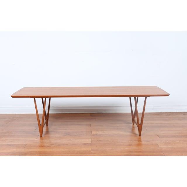 Kai Kristiansen Style Coffee Table - Image 2 of 9