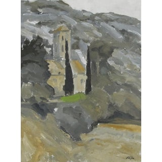 Grey Chapel Painting, Southern France