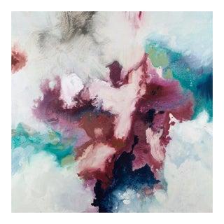 "Original Acrylic on Canvas ""Marsala Iii"" by Randy Hibberd"