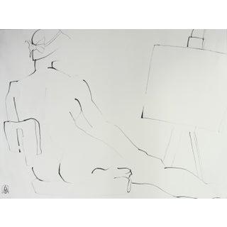 """Posing in the Artist's Studio"" by Adria Becker"