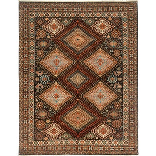 """Ziegler Hand Knotted Area Rug - 5'5"""" X 7'"""
