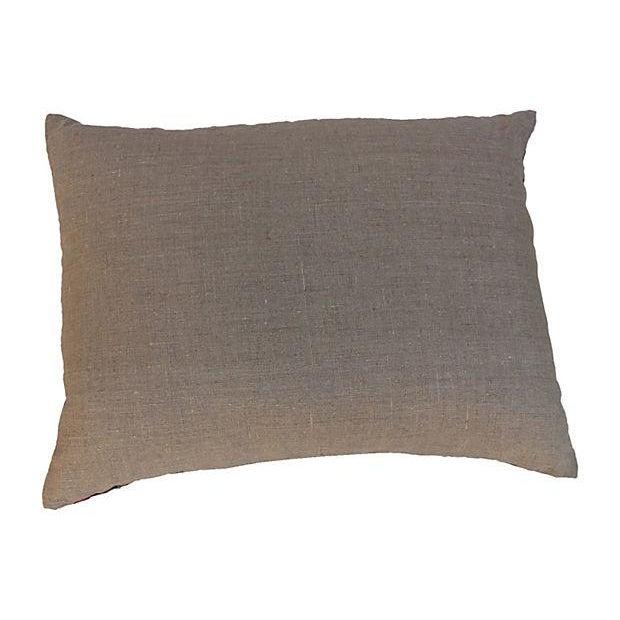 Mid-Century Embroidered Suzani Pillow Chairish