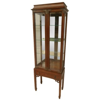 Century Furniture Oriental-Style Lit Curio