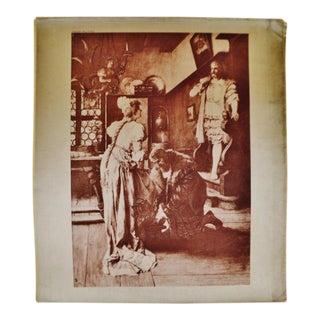 1899 Photogravure of Ferdinand Leeke's Die Meistersinger von Nürnberg Opera Painting