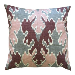 Kelly Wearstler Bengal Bazaar Ikat Throw Pillow