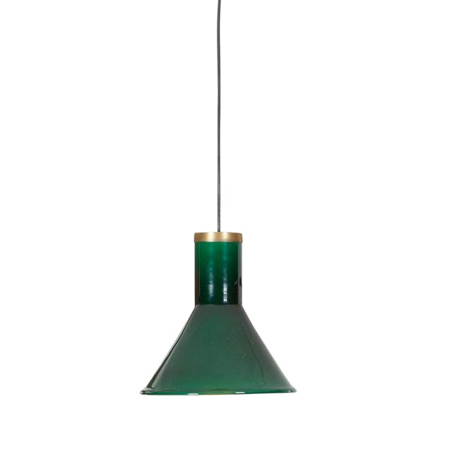 Green Glass Pendant Lamp by Holmegaard - Image 1 of 4