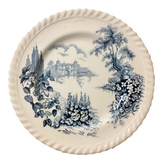 English Style Toile Pattern Trinket Dish
