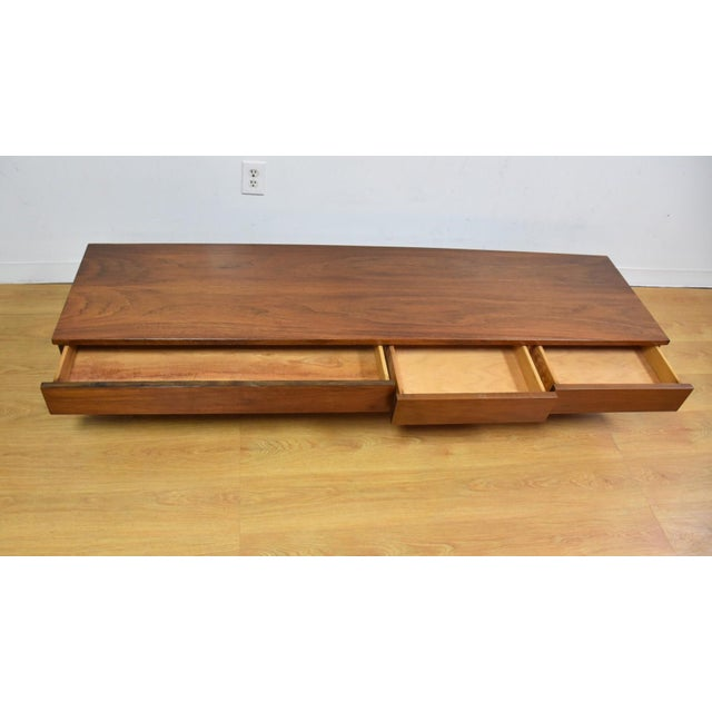 Image of American of Martinsville Low Table Tv Console