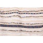 Image of Vintage Handira Moroccan Wedding Blanket