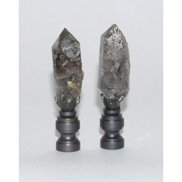 Image of Herkimer Diamond Finials