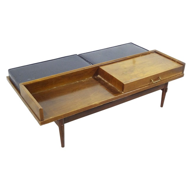 American of Martinsville Coffee Table Bench - Image 4 of 10