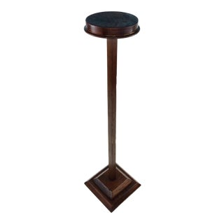 Antique Wood Hat Millinery Stand