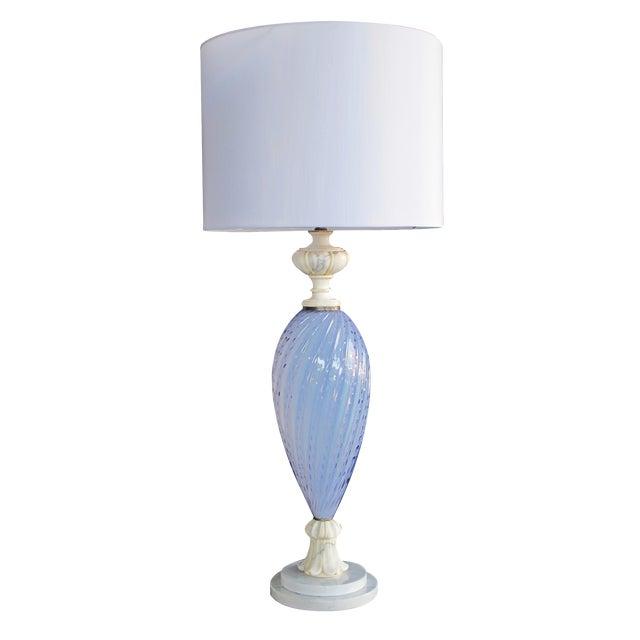Italian Mid-Century Art Glass Lamp Made for Marbro Lighting, Los Angeles - Image 1 of 5
