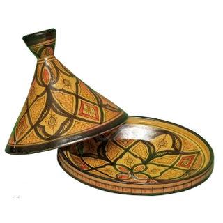 Moroccan Arabesque Design Tagine