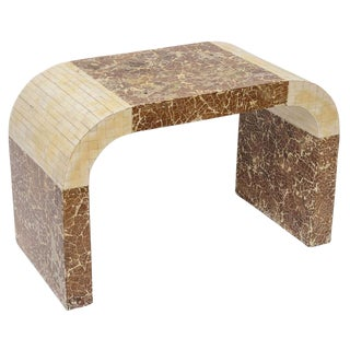 Coconut & Bone Waterfall Stool