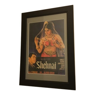 Vintage Mid-Century Bollywood Movie Poster
