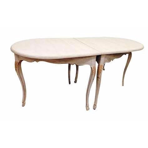 Image of Antique French Provincial Louis XV-Style Table