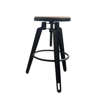 Industrial Adjustable Vintage Stool