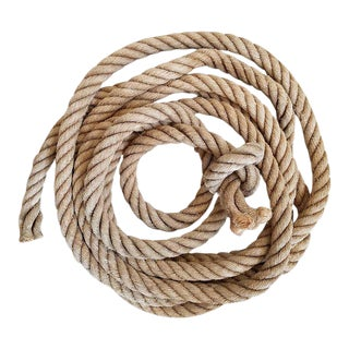 Vintage Nautical Dock Rope