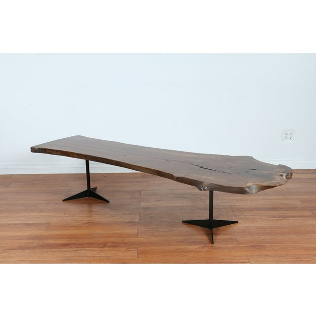 Solid Walnut Wood Slab Coffee Table Chairish
