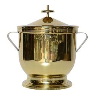 Tommi Parzinger Polished Brass Ice Bucket