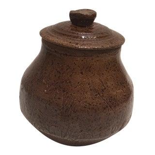 Handmade Stoneware Jar