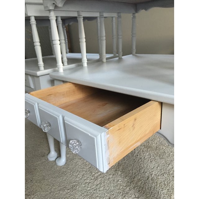 Vintage Transitional Nightstands - Pair - Image 4 of 5