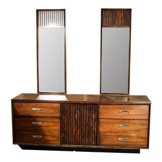 Bassett Mid-Century Modern 9-Drawer Dresser