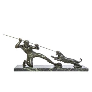 1930's Art Deco Bronze Sculpture