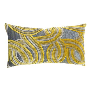 Geometrical Damask Velvet Pillow
