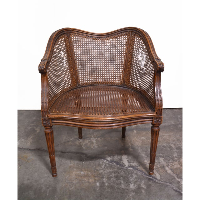 Vintage French Louis XV Caned Chair - Image 2 of 6