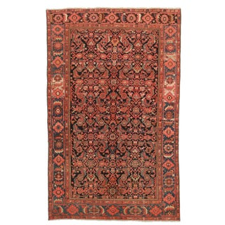 RugsinDallas Hand Knotted Persian Malayer Rug - 6′2″ × 10′2″