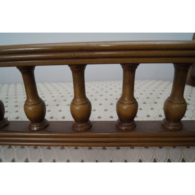 Vintage French Louis XVI Style Window Bench - Image 9 of 10
