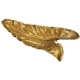 Brass Calla Lily Leaf