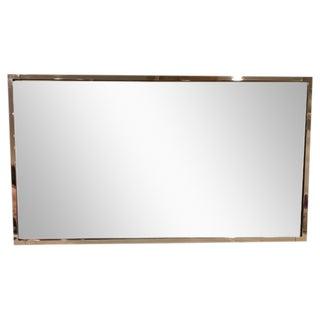 Polished Nickle Rectangular Mirror