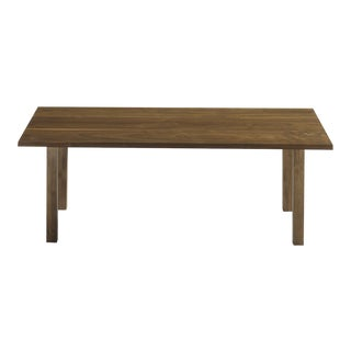 Modern Solid Walnut Coffee Table