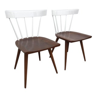 Pair of Paul McCobb Two-Toned Planner Chairs