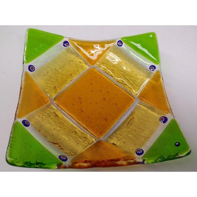 Image of Millefiori Murrine Glassl Plate by Ercole Moretti