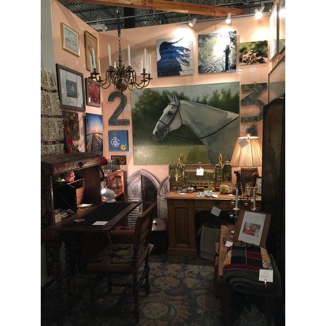 Tina Duryea 'Classic Grey' Horse Oil Painting - Image 4 of 4
