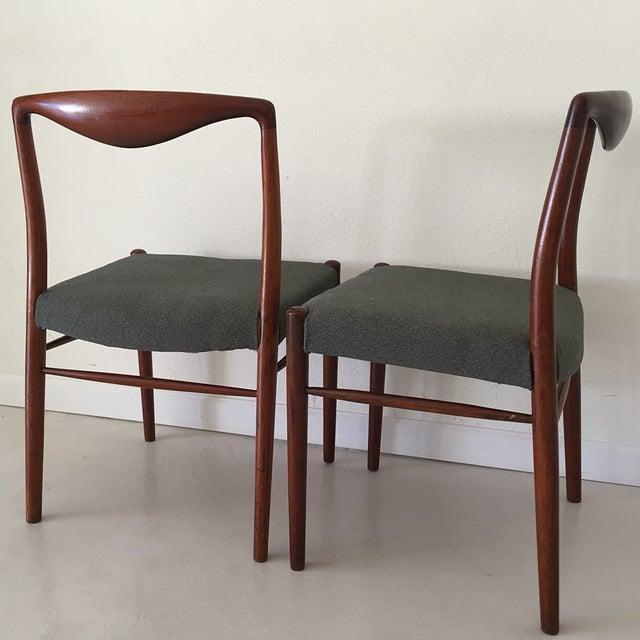 Kai Lyngfeldt Larsen Teak Dining Chairs - S/4 - Image 2 of 5