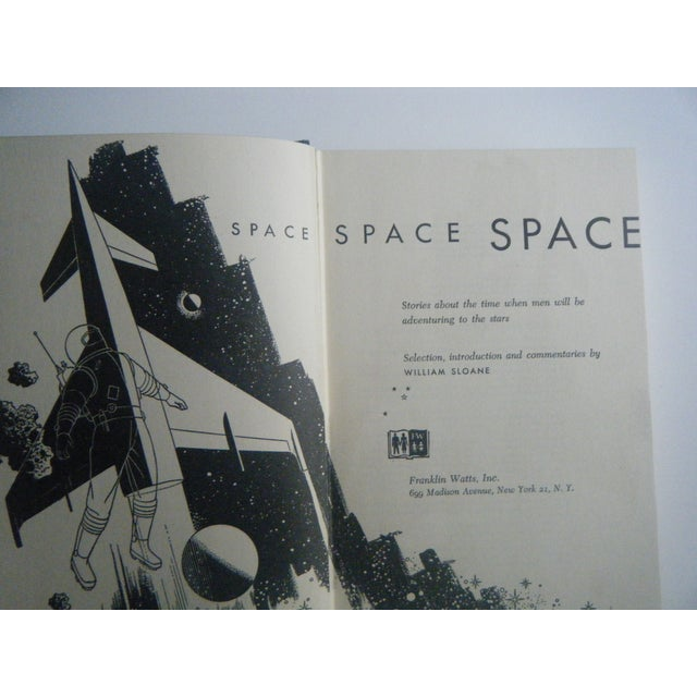 Image of Space Space Space Vintage Book, First Printing