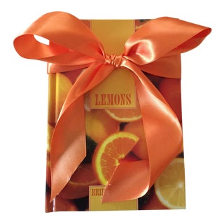 Oranges & Lemons Cookbook Set - a Pair
