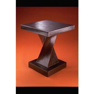 Helix Table - Antique Copper