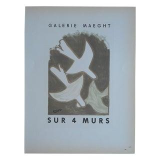 Braque Mid 20th C. Modern Lithograph-Mourlot