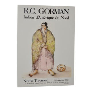 R.C. Gorman 1980 French Exhibition Poster