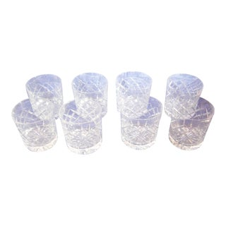 Cartier Cut-Crystal Rocks Tumblers - Set of 8