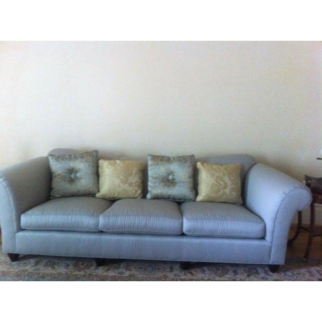 barbara barry sofa by baker furniture company chairish. Black Bedroom Furniture Sets. Home Design Ideas