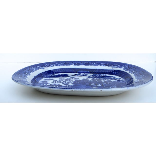 Flow Blue Platter - Image 5 of 6