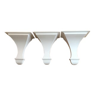 White Wall Brackets - S/3