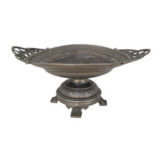 Victorian Aesthetic Movement Compote Bowl